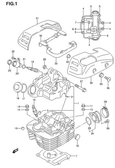 EN125 - Cylinder Head
