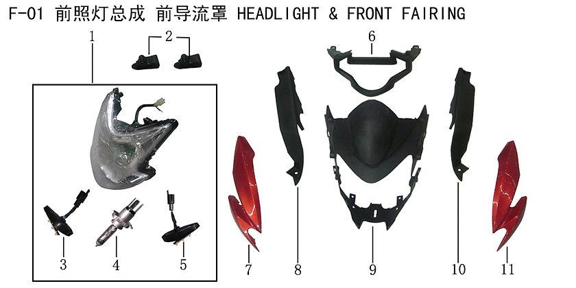 Headlight & Front Fairing