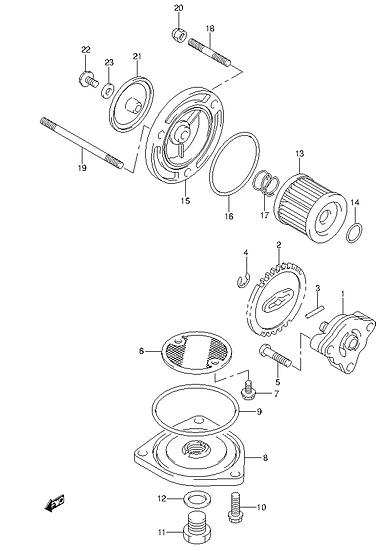 EN125 - Oil Pump