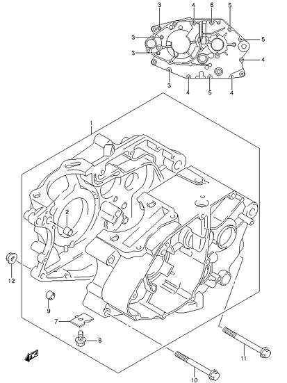 EN125 - Crankcase