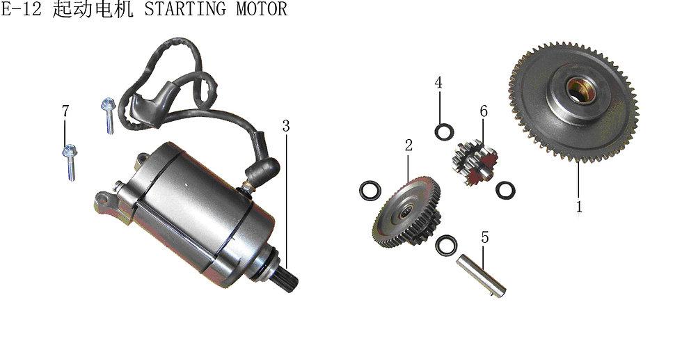 CG125-250- Starting Motor