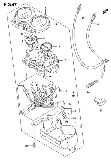 EN125 - Speedometer Assy