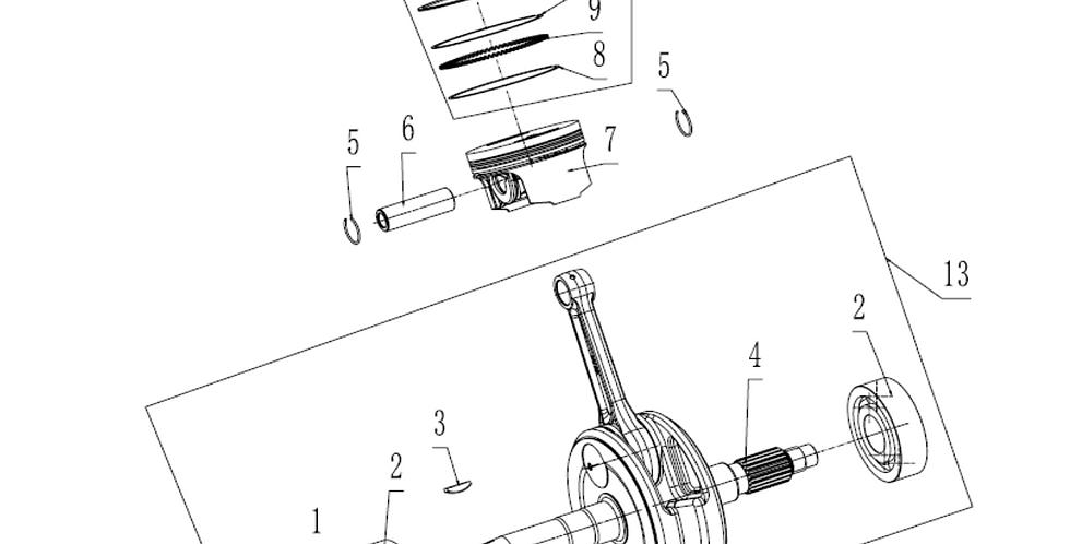 Crankshaft & Piston