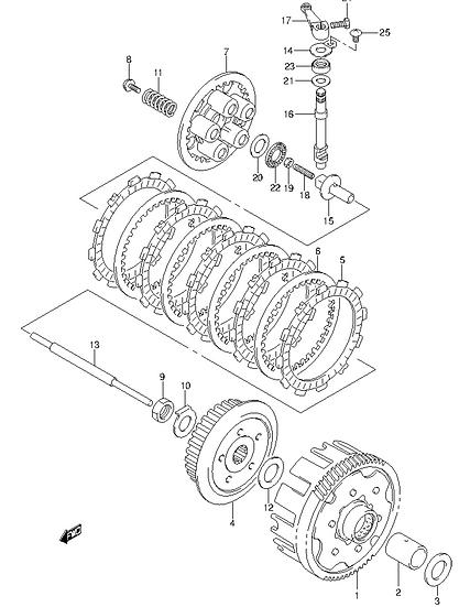 EN125 - Clutch