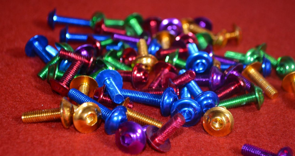 Coloured Bolts