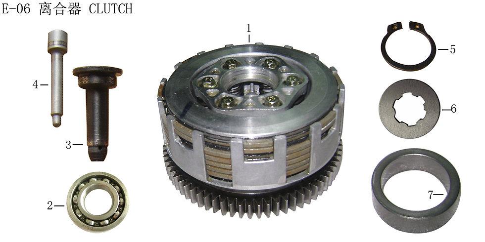 CG125-250- Clutch