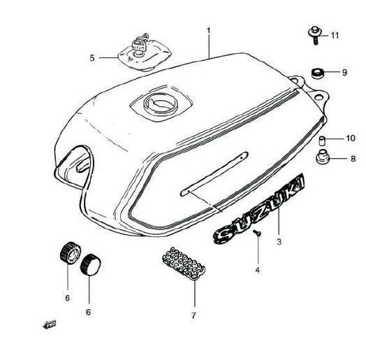 AX100 - Fuel Tank