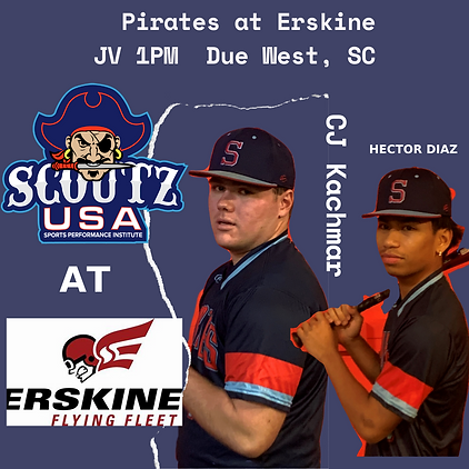 Pirates at Erskine JV 1PM Due West, SC.p