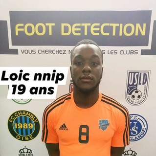 LOIC NNIP SIGNE AU FC OUEST TOURANGEAU (N3)