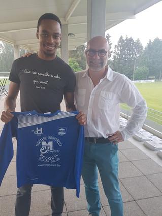 EMMANUEL FRANCOIS SIGNE AU FC PERUWELZ