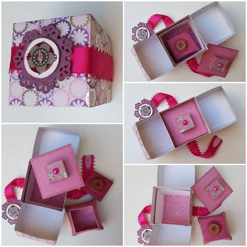 Boîte gigogne rose