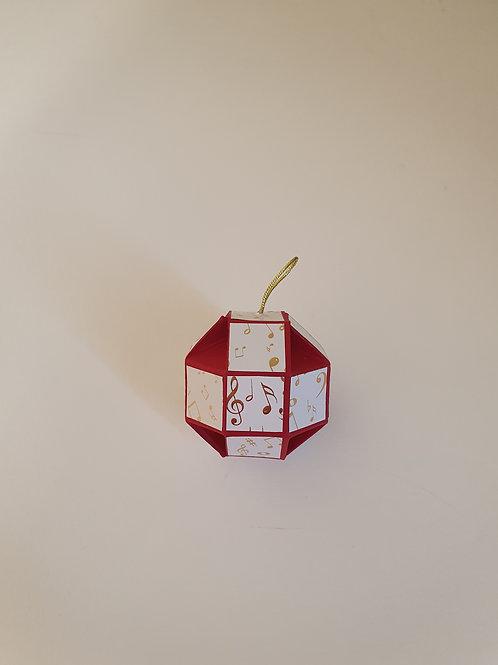 boule de Noël à facettes