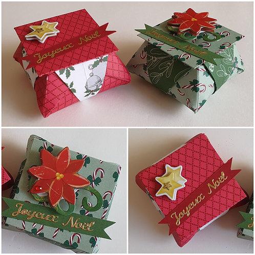 2 Boîtes en origami