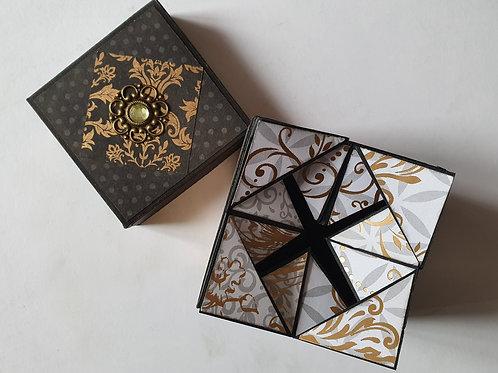 Boîte ouverture origami