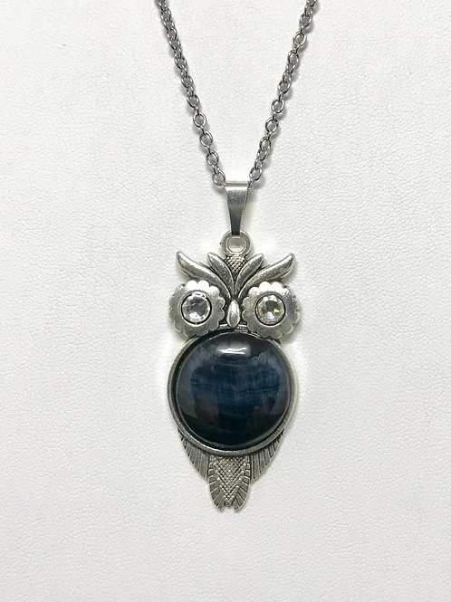 A54 - Blue Tiger Eye Necklace