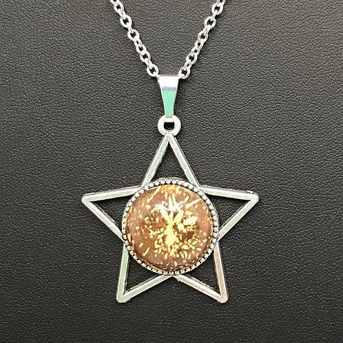 A48 - Starburst Jasper Necklace