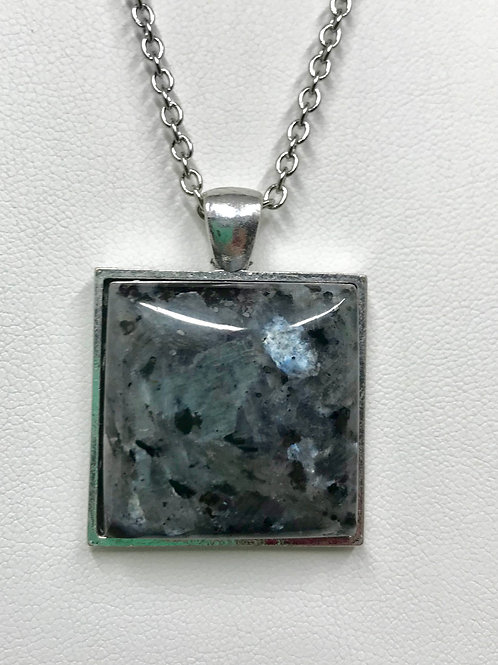 A62 - Larvikite Necklace