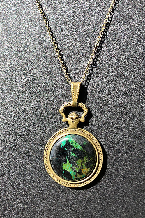 C17 - Chrysocolla Necklace