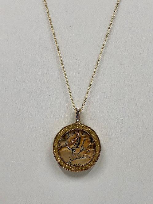 B45 - Australian Dendritic Opalite Necklace