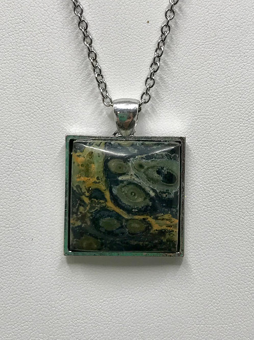 A35 - Kambaba Jasper Necklace
