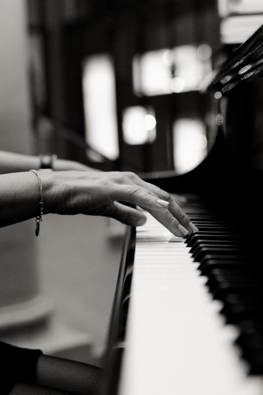 Patricia Seidl am Piano