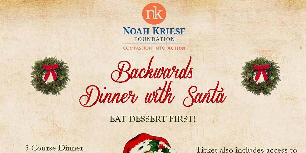 2nd Annual Backwards Dinner with Santa