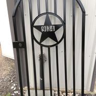 Custom Metal Gate Address