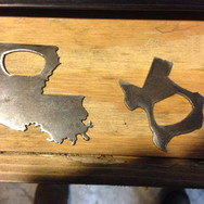 Metal Bottle Openers state shapes