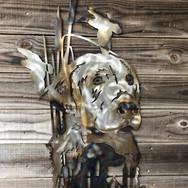 Custom metal labrador wall art