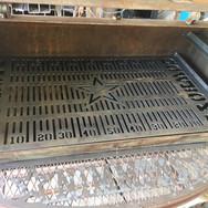 Custom built BBQ grill