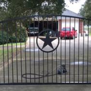 Custom Metal Star Gate