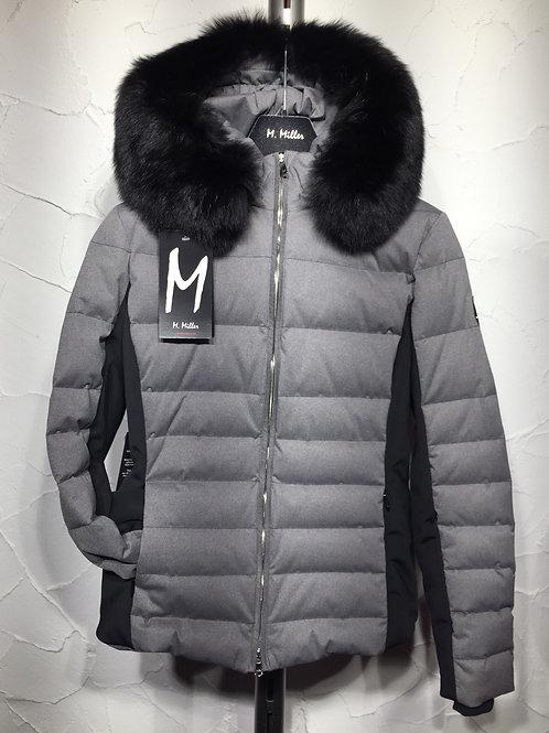 M. Miller Softshell Jacke mit Black Fox Pelz