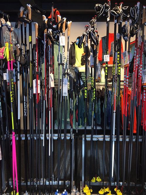 Langlauf Skistöcke