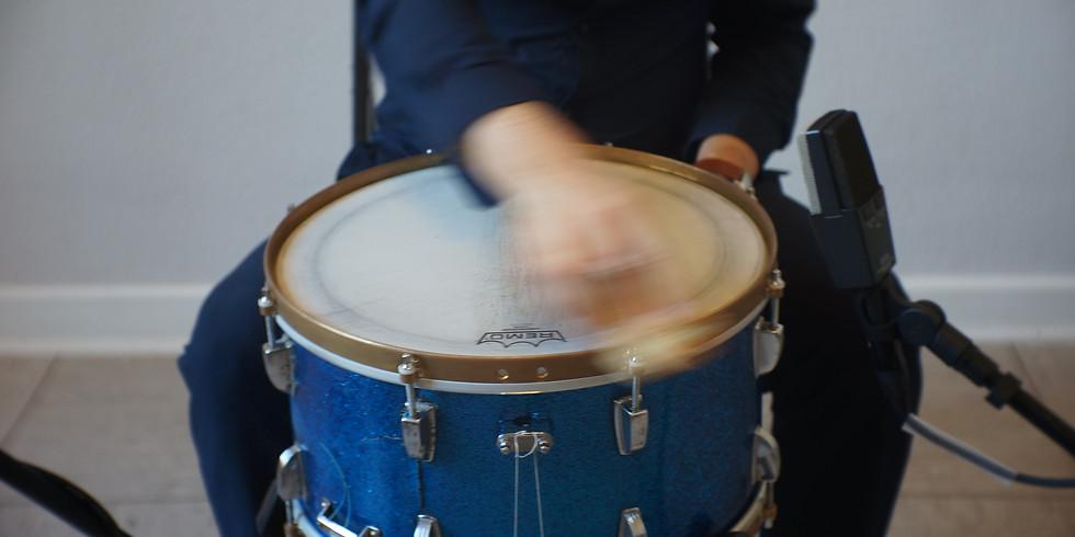 Klangbilder - Etienne Nillesen (extended snare drum) - fri entré