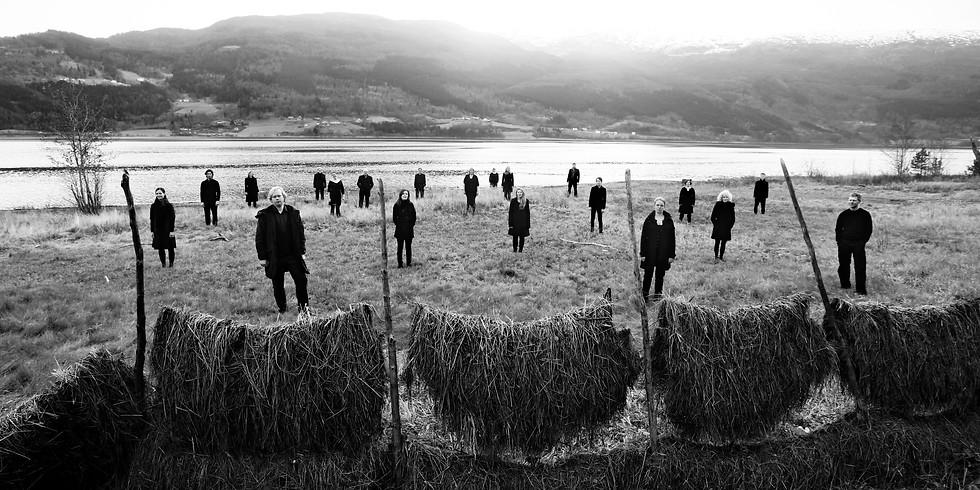 Jeg ser deg - Oslo Kammerkor m/ Tord Gustavsen, Trygve Seim (sax) og Etienne Nillesen (slagverk)