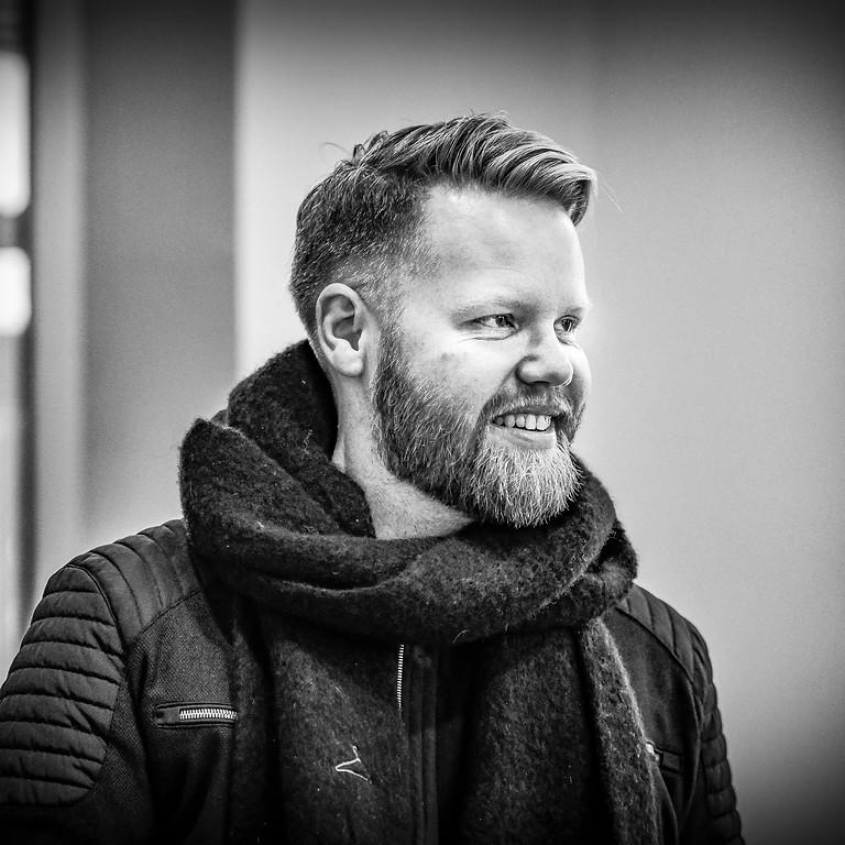 Kim Rysstad med Arve Henriksen og Tord Gustavsen