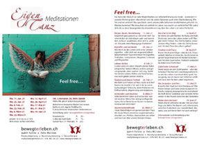 Flyer zum Angebot «EigenTanz Meditationen»