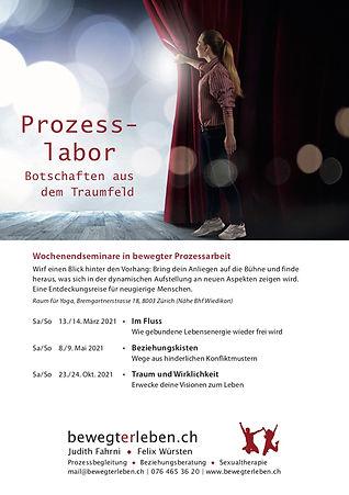 Flyer «Prozesslabor»