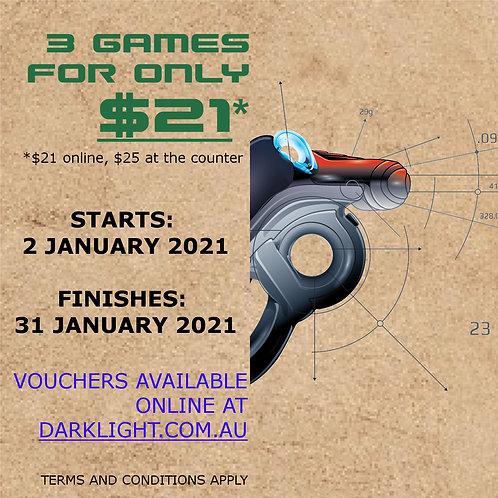 January 2021 School Holiday Deal