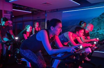 Group cycling in VeloStudio