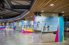 Concourse area at Lee Valley VeloPark