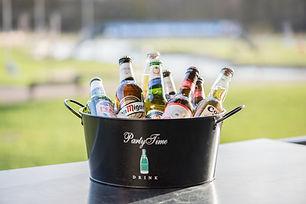 Bucket of beers on the terrace