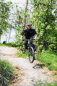 Cyling the MTB trail at Lee Valley VeloPark