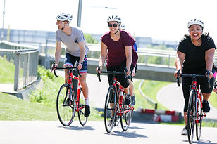 Cycling the road circuit
