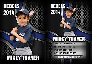 Trading Cards.  Legends Sports Photography