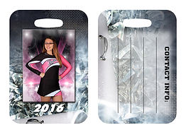 Bag Tags.  Legends Sports Photography