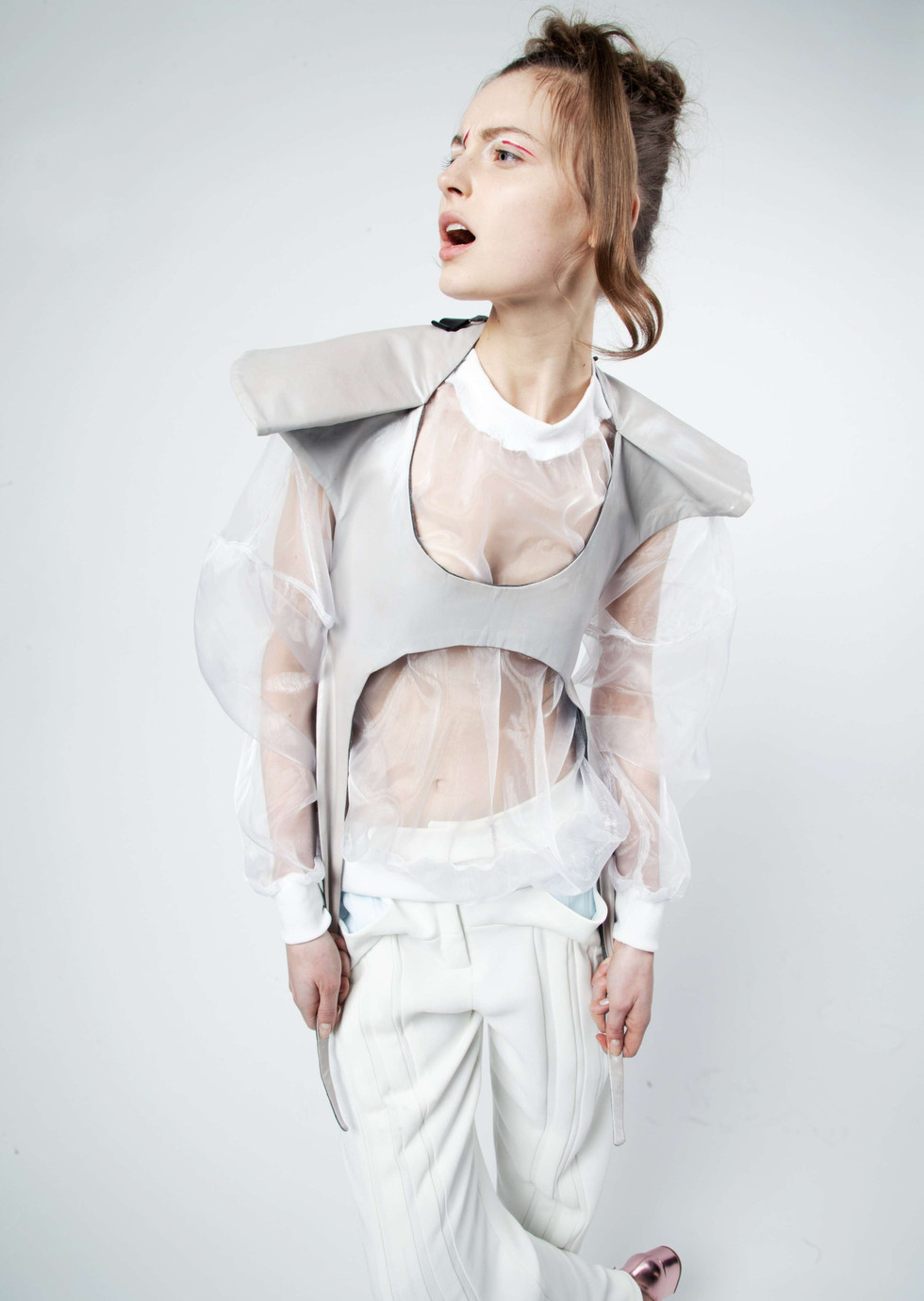 Material Girl Magazine-Reaching out by Anastasia Rasschupkina