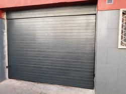 Portão Seccionado Cor Cinza RAL 7016