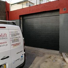 reparação de portões de garagem