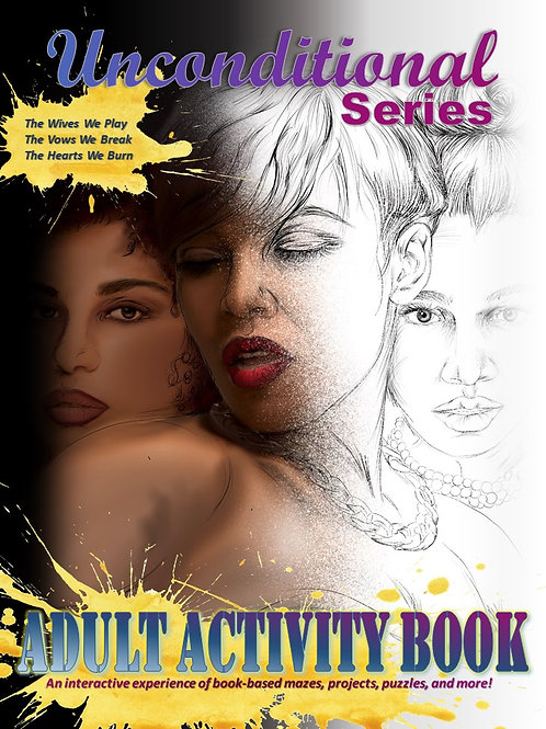 Unconditional Series Adult Activity Book (PRINTED BOOK)